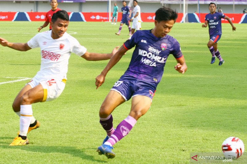 Persita imbang dengan PSM Makassar