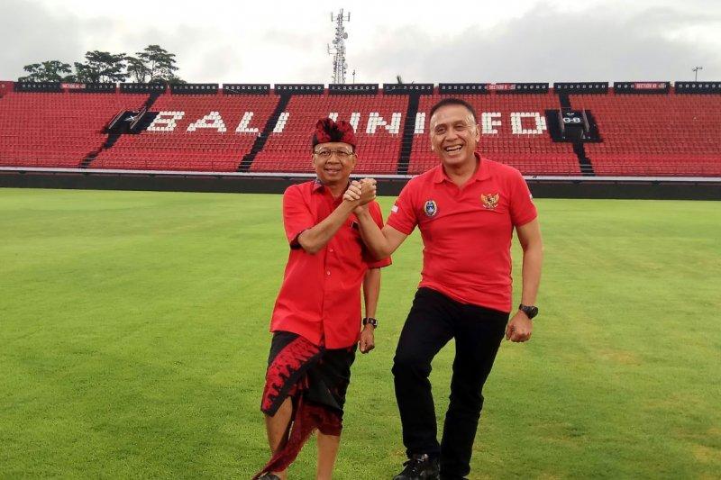 Ketua Umum PSSI tinjau Stadion Kapten Dipta