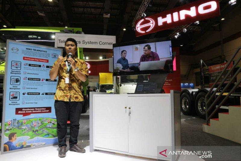 PT HMSI luncurkan aplikasi Hino Connect di GIICOMVEC 2020