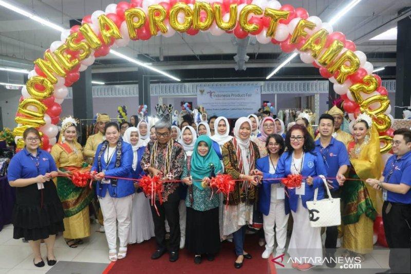 Iwapi-KJRI Kuching pamerkan produk unggulan Indonesia di Sarawak