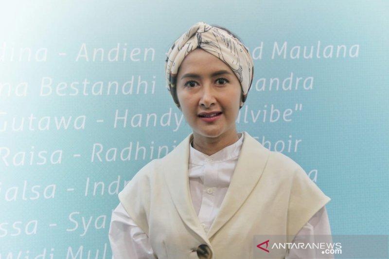 Perasaan Widi Mulia main film bareng keluarga