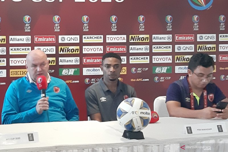 Pelatih PSM anggap layak hasil imbang kontra Kaya FC-Iloilo