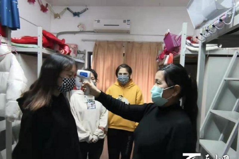 Xinjiang bantah penahanan pelajar di Wuhan