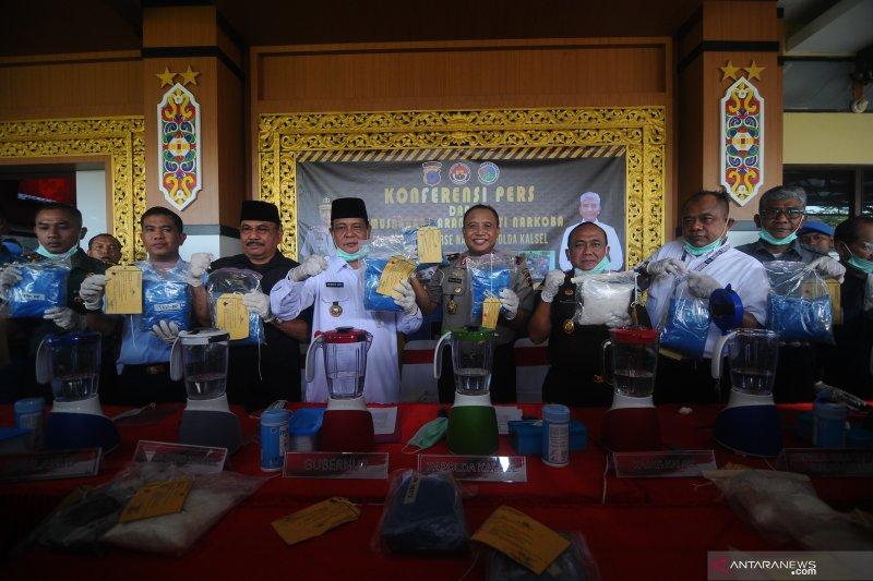 Polisi sita 22,7 Kg sabu jaringan Malaysia