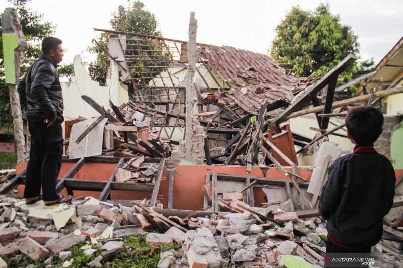 Dampak gempa Sukabumi