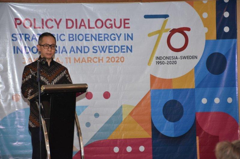 Indonesia dan Swedia bekerjasama dalam pengembangan bioenergi