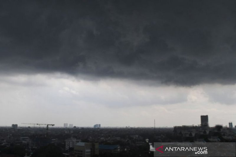 Tiga hari ke depan, hujan lebat berpotensi landa sejumlah wilayah RI