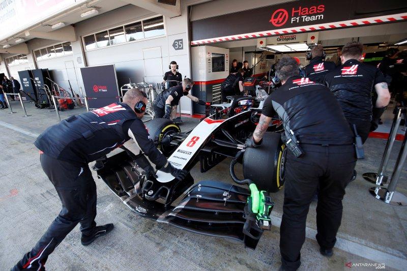 Anggota tim Haas dan McLaren jalani karantina dan tes virus corona