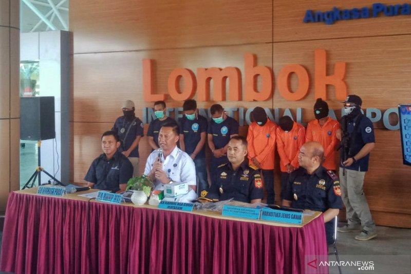 BNNP NTB ungkap dua kasus penyelundupan sabu-sabu asal Batam