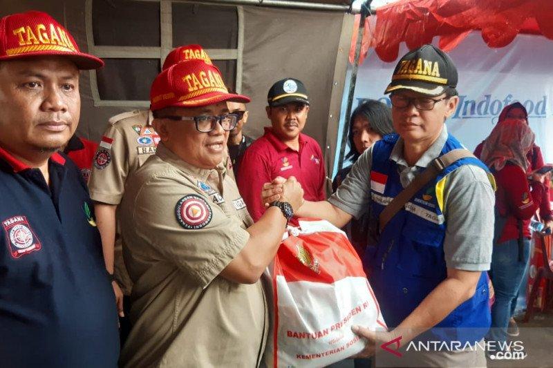 Kemensos percepat penanggulangan bencana gempa di Sukabumi