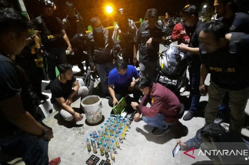 Polresta Jambi razia kampung narkoba Pulau Pandan