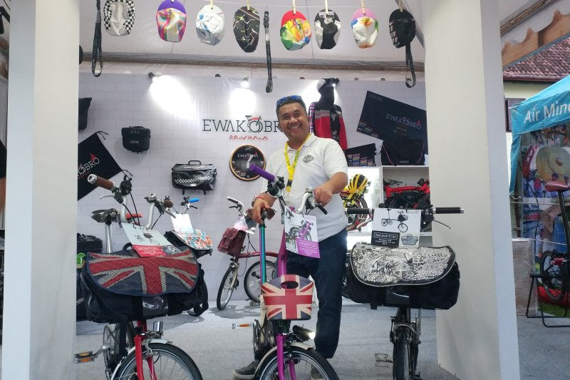 1.023 pesepeda hadir pada pembukaan MB Fest 2020 di Benteng Roterdam