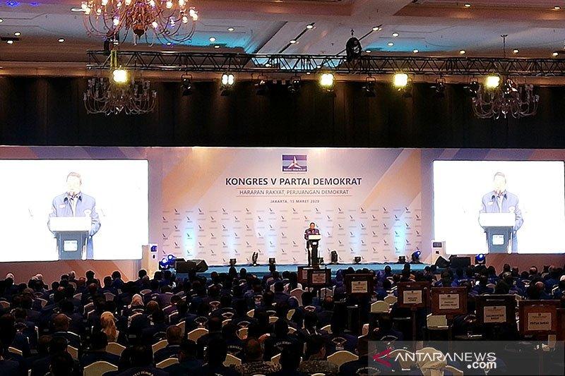 SBY isyaratkan pergantian pimpinan di Partai Demokrat