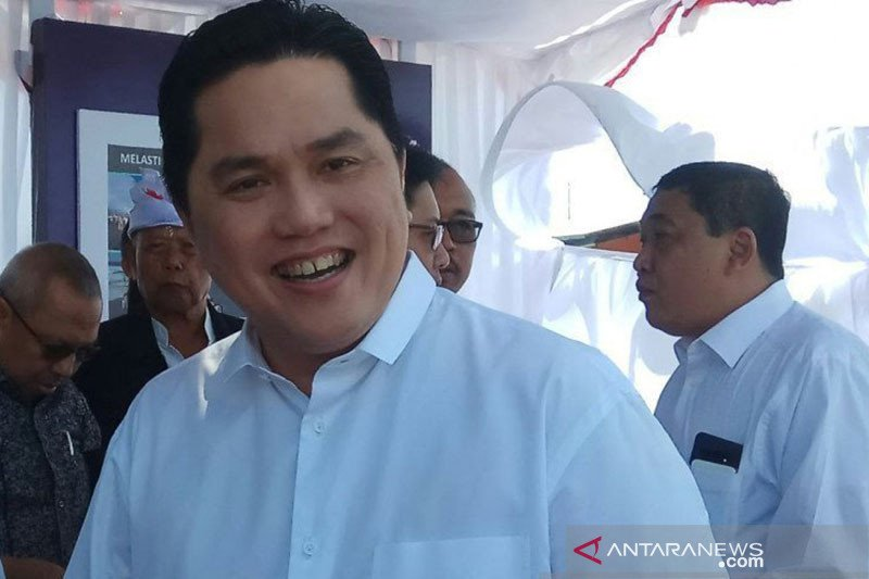 Erick Thohir pastikan BUMN tetap layani Indonesia
