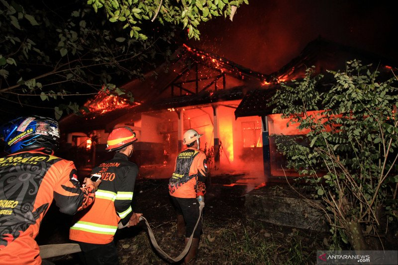 Kebakaran laboratorium di Universitas Palangkaraya