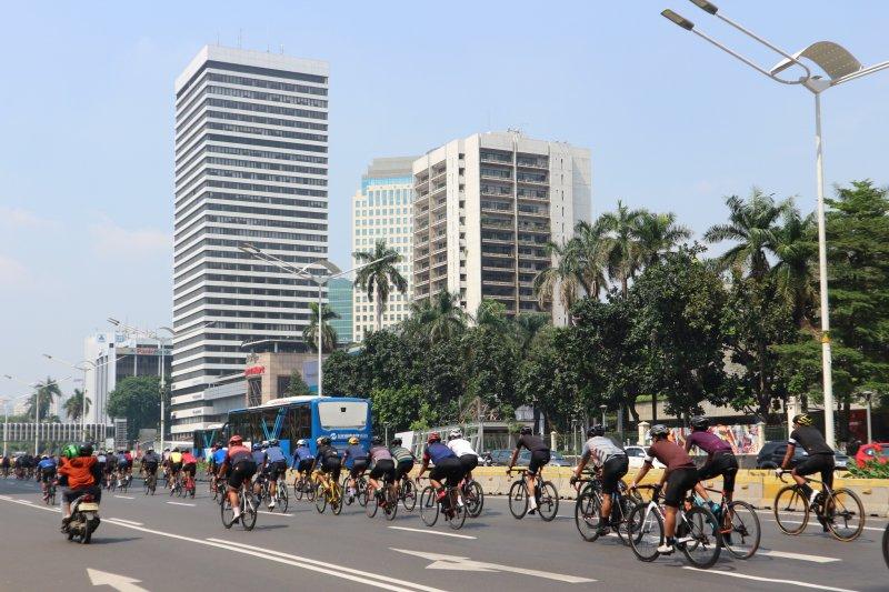 Bersepeda sebagai alat transportasi tangkal sebaran COVID-19