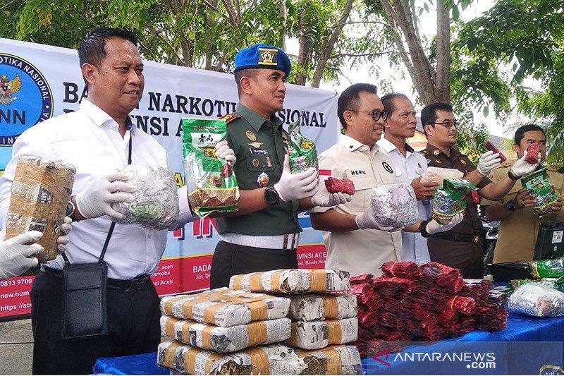 BNN: 82 ribu penduduk Aceh terpapar narkoba