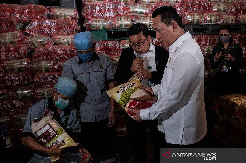 Polri: Jangan ada yang timbun/naikkan harga sembako selama wabah