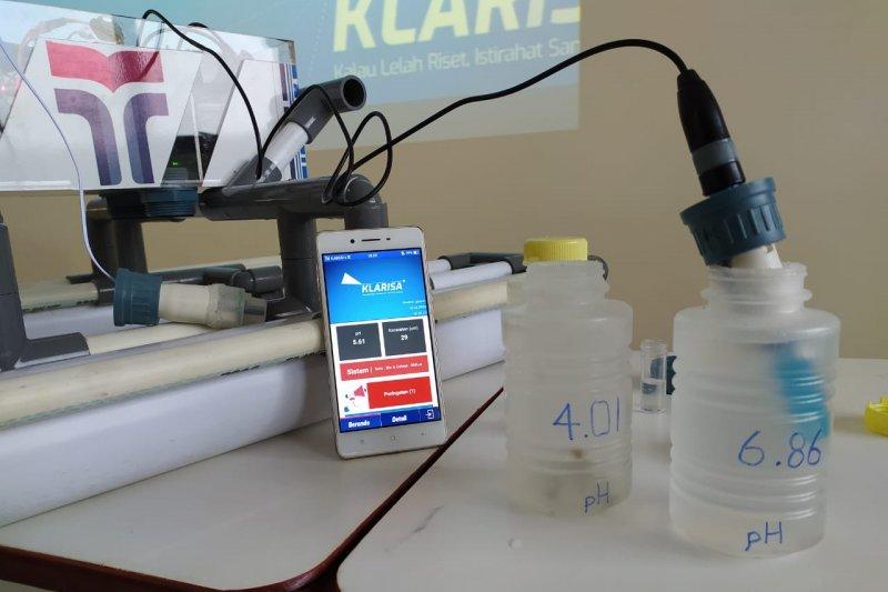 Mahasiswa ITTP rancang teknologi pemantau pertumbuhan udang
