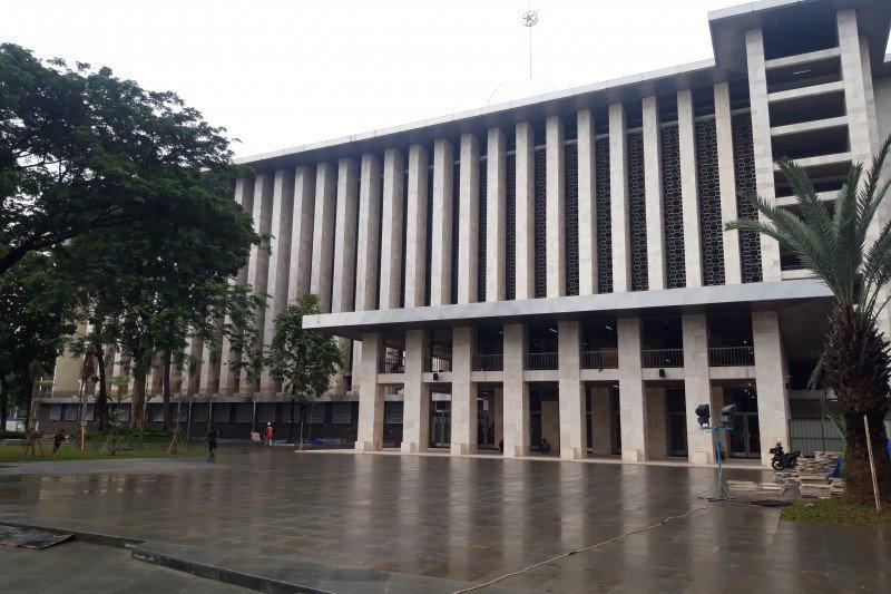 Masjid Istiqlal Siapkan Alat Ukur Suhu Tubuh Cegah Covid 19