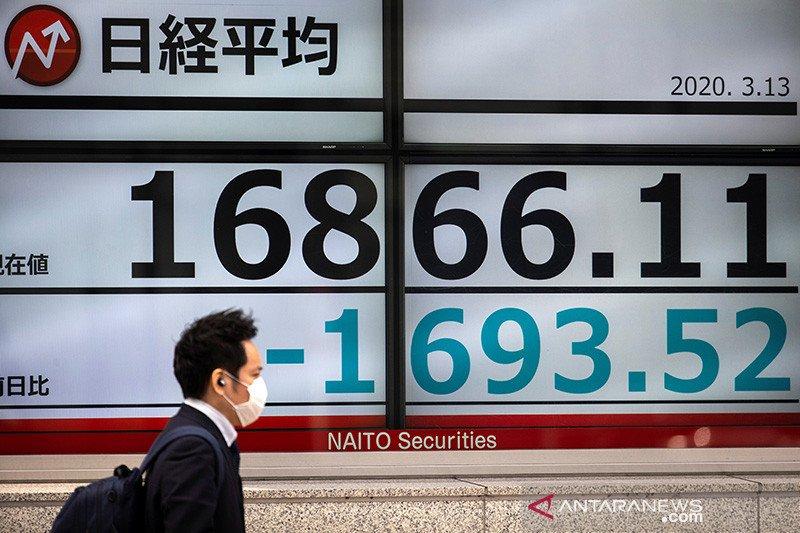 Saham Tokyo ditutup menguat setelah darurat virus corona dicabut