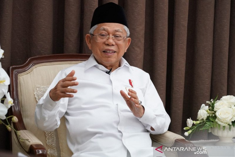 Wapres Ma'ruf Amin sampaikan duka cita untuk Presiden Jokowi