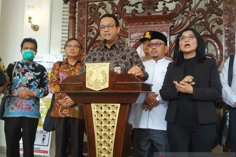 Shalat Jumat di Jakarta diimbau ditunda dua pekan