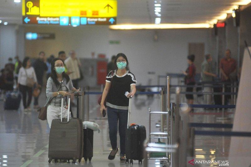 Penumpang rute internasional di Bandara Ngurah Rai anjlok 30,18 persen