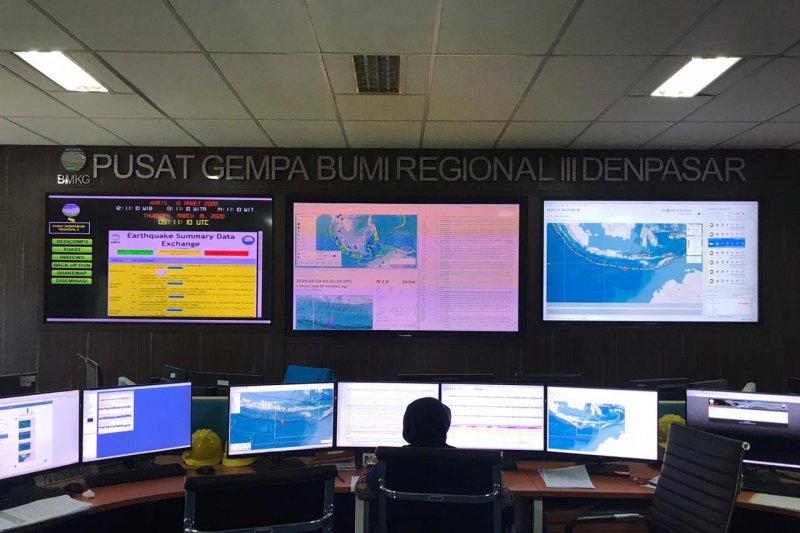 Pascagempa magnitudo 6,3 di Bali, BMKG catat 15 gempa susulan