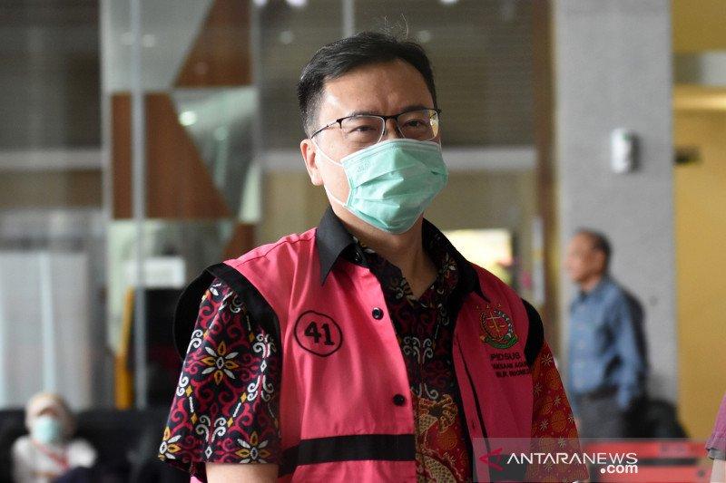 KPK periksa Benny Tjokrosaputro sebagai tersangka korupsi Jiwasraya