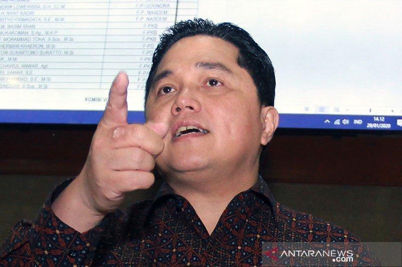 Erick Thohir instruksikan BUMN terapkan jaga jarak di fasilitas publik