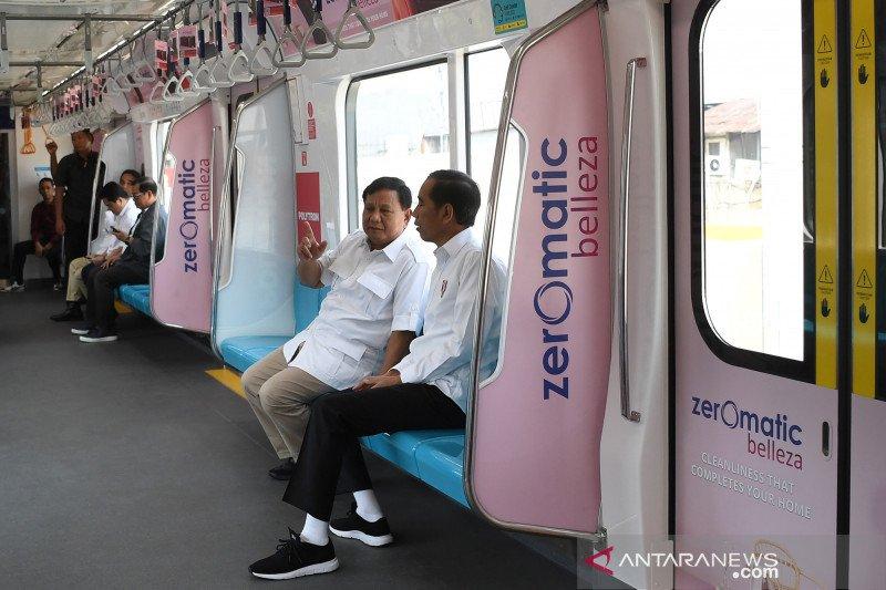 Potret perjalanan MRT, dari stadion Lebak Bulus hingga rekonsiliasi politik