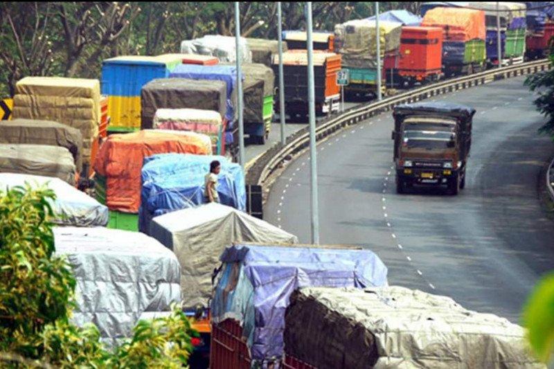 20.000 sopir truk di Jakarta beraktivitas normal