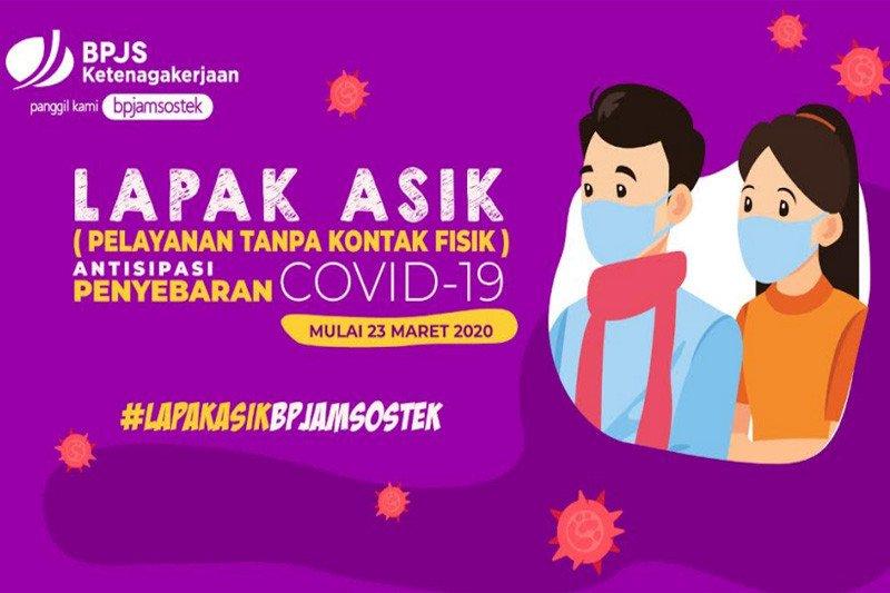 BPJAMSOSTEK sesuaikan layanan tanpa kontak fisik untuk Jakarta