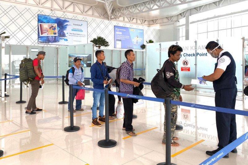 Bandara Semarang perketat prosedur pemeriksaan calon penumpang