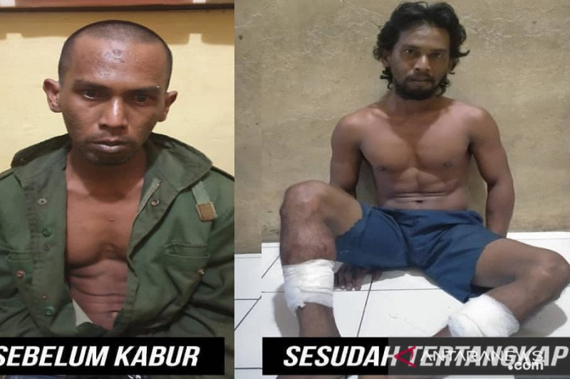 Dor…dor…dua kaki pelaku perkosaan ditembak setelah 7 bulan buron
