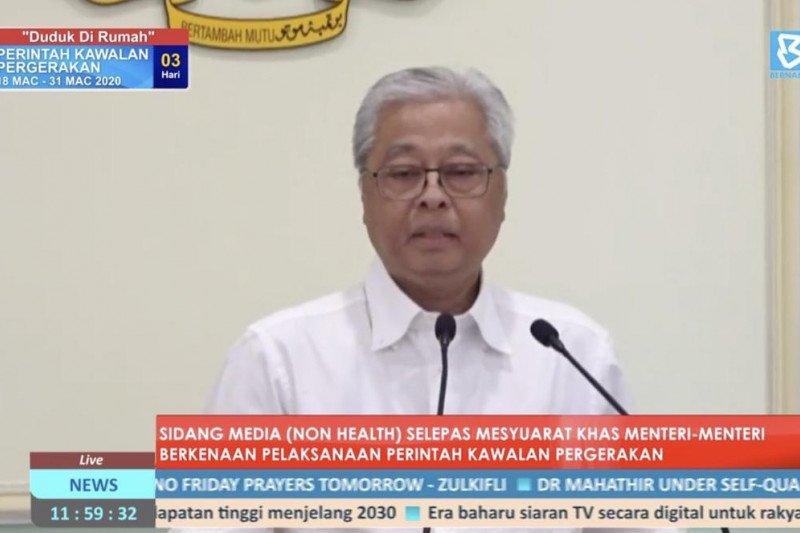 Malaysia turunkan 50.000 personel tegakkan aturan COVID-19