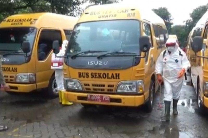 DKI operasikan bus sekolah selama uji coba belajar tatap muka