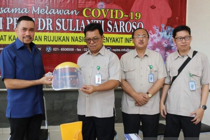 24 pasien positif COVID-19 RSPI Sulianti Saroso dinyatakan sembuh