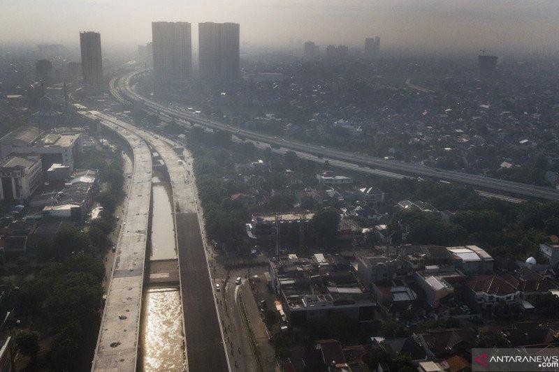 Lalu lintas menuju Jakarta lengang