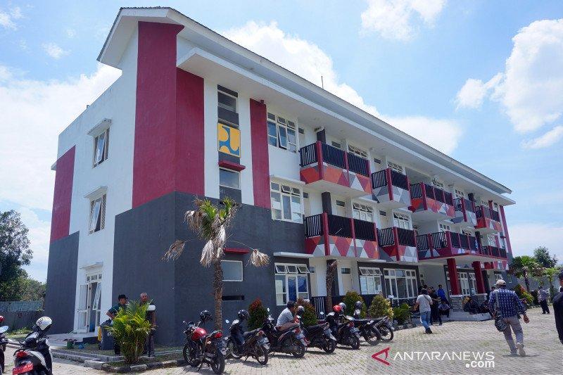 Rusunawa mahasiswa disiapkan untuk RS Darurat COVID-19 di Tulungagung