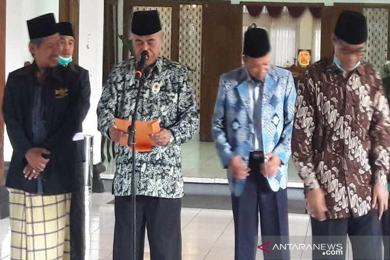 Pemuka agama di Temanggung tunda kegiatan sosial keagamaan