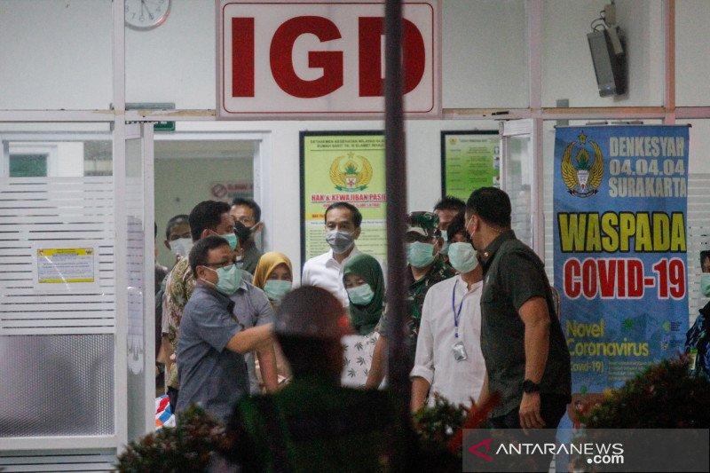 Menhan Prabowo berbelasungkawa atas wafatnya ibunda Presiden Jokowi