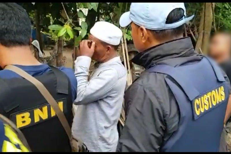Bea Cukai dan BNN menggagalkan penyelundupan 12 kg sabu-sabu di Aceh
