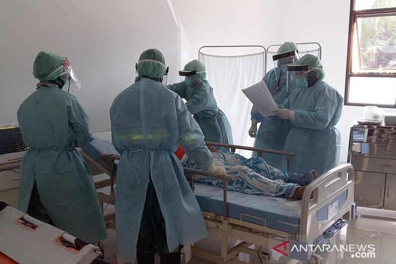 Pemkab Sangihe gelar simulasi penanganan pasien COVID-19