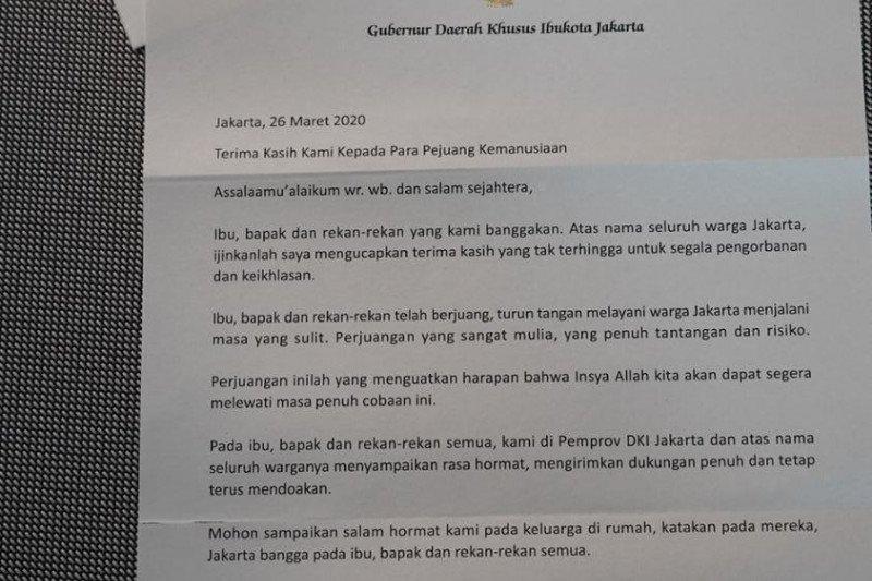 Kemarin, dari surat cinta hingga hoax seruan Gubernur Jakarta