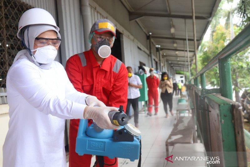 Menaker dorong penyemprotan disinfektan di tempat kerja cegah COVID-19