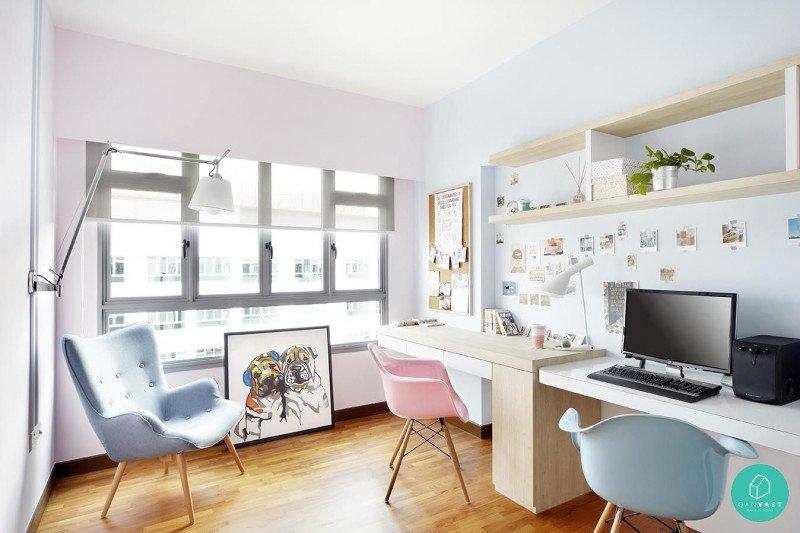 Lima Inspirasi Home Office Warna Pastel Yang Bikin Betah Saat Wfh Antara News Makassar