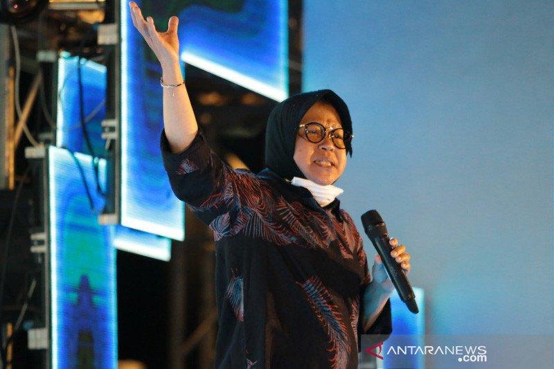 Wali Kota Surabaya keliling kampung imbau warga jaga jarak