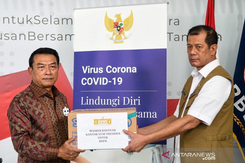 KSP serahkan bantuan penanganan COVID-19